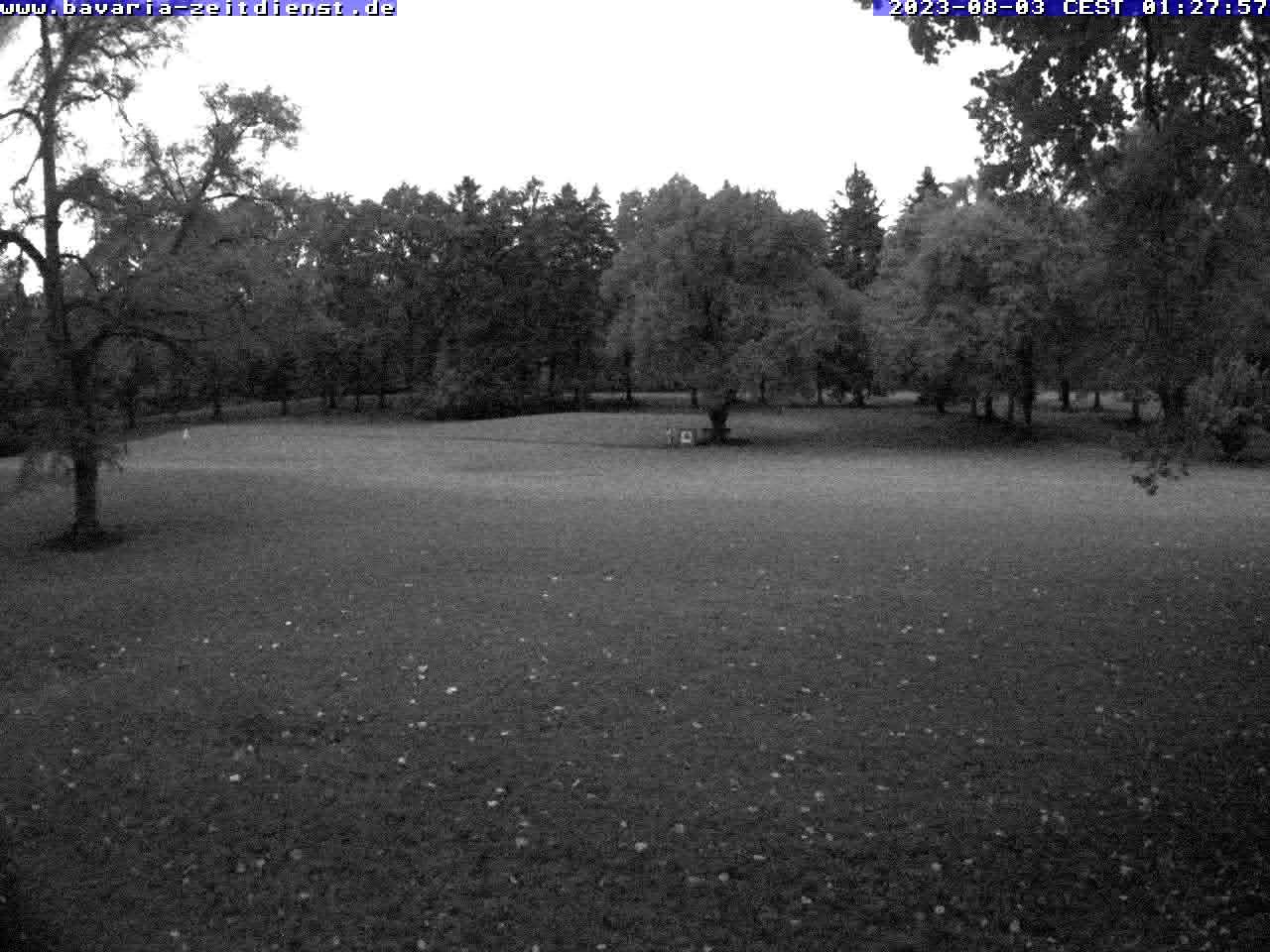 Webcam auf dem Golfplatz